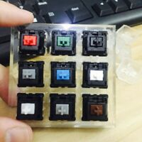 UK Mechanical Keyboard Clear Keycaps 9 x Switches Sampler Tester Kit for Cherry