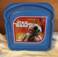 Star Wars The Force Awakens BB-8Droid Sandwich Container KIDS SANDWICH HOLDER