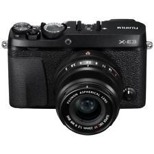 Fujifilm X-E3 Mirrorless Camera with XF 23mm f/2 R WR Lens, Black #16559053