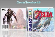 """Boitier du jeu """"ZELDA LINK'S AWAKENING DX"""", N°2. Game Boy Color. FR.SANS LE JEU."""
