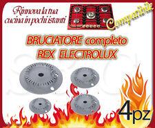 BRUCIATORE PER CUCINA REX-ELECTROLUX-ZOPPAS-CASTOR IN LEGA LEGGERA