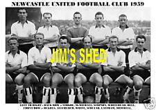 NEWCASTLE UNITED F.C. TEAM PRINT 1959