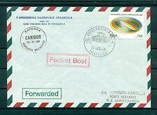 Italie - Enveloppe 1989 - 5e expédition antarctique nationale