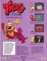 TROG Arcade FLYER Original NOS 1990 1-SIDED Promo Video Game Artwork Midway