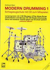 Schlagzeug Noten Schule : MODERN DRUMMING 1 (Diethard Stein) mit CD