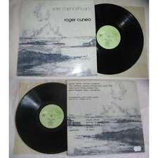 ROGER CUNEO-Entre Chiens Et loups Rare LP Switzerland Jazz Folk Poetry 70's