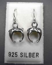 NEU 925 Silber OHRHÄNGER mit DELFINE Ohrringe DELFIN Delphine DELPHIN Dolphin