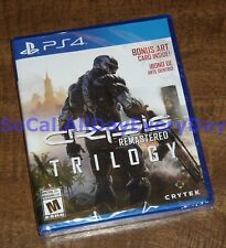 Crysis Remastered Trilogy with Art Card! (PlayStation 4, Physical) BRAND NEW ps4
