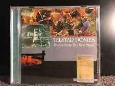 Telstar Ponies - Voices from the new music CD