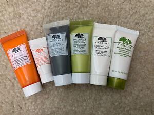 Set of 6 - Origins Skin Care Travel Size Sample, Eye Cream, Cleanser