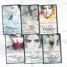 Rachel Vincent Soul Screamers 6 Books Collection Set (My Soul To Keep , My Soul)
