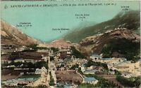 CPA  Sainte-Catherine et Briancon - Ville la plus élevée de l'Europe  (453745)