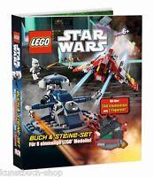 Fachbuch LEGO® Star Wars™, Buch & Steine-Set für 8 einmalige Modelle, NEU