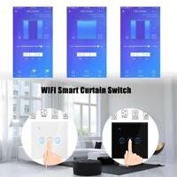 App Wifi TouchSchalter Rolladenschalter Jalousie Vorhang Schalter Alexa 2 Farben