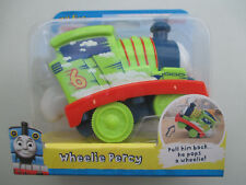 """FISHER-PRICE """"MY FIRST THOMAS & FRIENDS""""-WHEELIE PERCY PULL BACK/POPS A WHEELIE!"""
