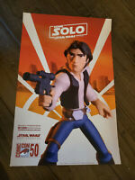 2019 SDCC COMIC CON EXCLUSIVE HOME HAN SOLO A STAR WARS TOY STORY PROMO POSTER