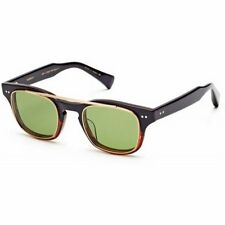 Dita KASBAH Sunglasses Black Tortoise/ Gold Vintage Green Gradient Lens Full Rim