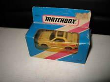 MATCHBOX 1/75 SERIES SUPERFAST MB-74 TOYOTA MR2 PACE CAR WHITE DAMAGED BOX