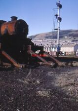 PHOTO  STANIER BLACK 5 44771 SWANSEA EAST DOCK 29.12.67 THE SIGNALS ARE SET AGAI