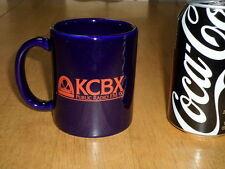 FM RADIO STATION -- KCBX - PUBLIC RADIO FM 90 , Ceramic Coffee Mug / Cup,Vintage