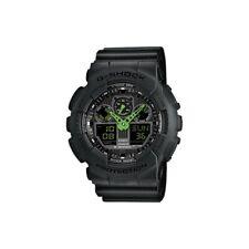 NEW Casio G-Shock GA-100C-1A3ER Speed Indicator Black Dial Men's Watch