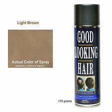 Hair Loss Concealer Spray GLH LIGHT BROWN Instantly Hides Balding Areas