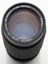 Yashica MC Zoom Macro 75-200 mm 75-200mm 4.5 1:4.5 - Contax / Yashica