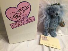 Annette Funicello Bear Blue Birdie 23rd Angel Mohair Bear: Nib