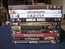 Lot of 10 DVDs ~ The Magnificent Seven, Paradise Road, The Vikings………..