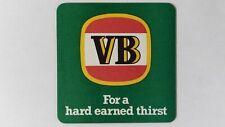 VB Victoria Bitter Beer Coaster