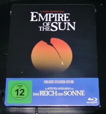 DAS REICH DER SONNE / EMPIRE OF THE SUN LIMITIERTE STEELBOOK BLU RAY NEU & OVP