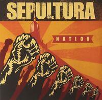 SEPULTURA - NATION 2 VINYL LP NEW!