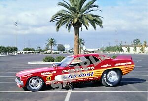Don Schumacher Stardust Red Cuda Funny Car Drag Racing 13x19 Poster Photo 185