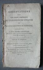 Pedro CEVALLOS. observations des causes du changement de dynastie. Espagne. 1810