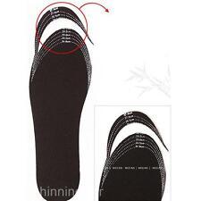 24 - 27cm Schneidbar Gesunde Bambuskohle Deodorant Schuh Auflage Einlegesohlen