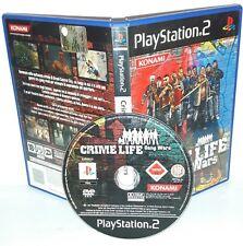 Crime Life Gang Wars-ps2 Playstation Play Station 2 game game