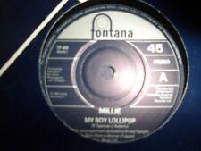 """Millie-Mi Niño Lollipop 7"""" - Fontana reedición-como Nuevo/sin jugar"""