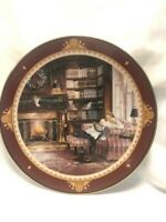 """Trisha Romance - Limited Edition Collector's Plate  - """"The Christmas Story"""" - 8"""""""