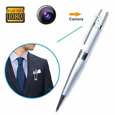 Corprit Silver Full HD 1080P Hidden Spy Pen Camera 8GB Portable Body Ballpoint
