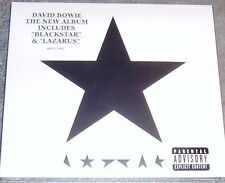 DAVID BOWIE Blackstar Black Star CD NEW ALBUM 2015 Digipak SEALED SIGILLATO