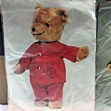 Vintage SS Happiness Crew Outfit Joshuas Red Pajamas For Teddy Bear NOS 1979