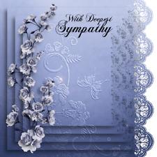 HANDMADE SYMPATHY GREETING CARD