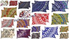 10 Pair Wholesale Elephant Mandala Indian Cushion Case Cotton Pillow Cover Sham
