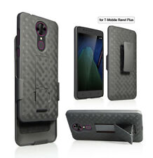 Coolpad T-mobile REVVL PLUS Case Slim Rugged Holster Shell Combo Belt Clip Cover