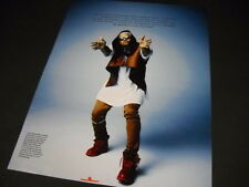 CHRIS BROWN most polarizing figure in music today 2014 PROMO POSTER AD