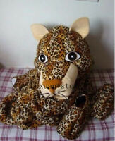 Adult Cute Feral Leopard Panther Mascot Costume Christmas Fancy Dress Halloween