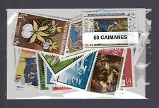 Iles Caimanes - Cayman Islands 50 timbres différents