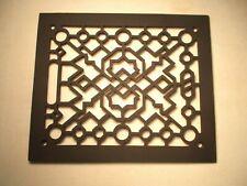 Art deco Antique Cast Iron floor grate register Top Nice Art Deco Condition