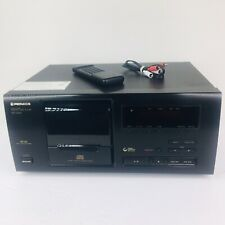 Pioneer PD-F605 CD Player 25 Disc Multi-Disc Changer w/ Remote & Cables _ Nice!!