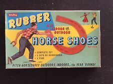 Schylling Rubber Horse Shoes Game #3126 Indoor Or Outdoor Horse Shoes